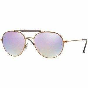 Ray-Ban Sunglasses W/Violet Lilac Gradient Mirror